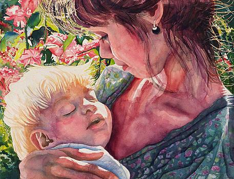 Asleep at the Rose Gardens by Maureen Dean