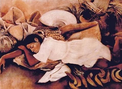 Asleep in the Market by Terri Ana Stokes