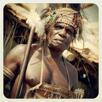 Asmat Tribe Warrior #asmat #indonesia by Dani Daniar