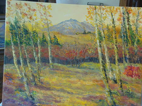Aspen Meadow by Ann Arensmeyer