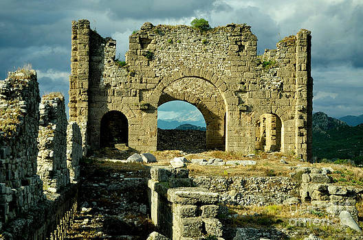 Aspendos Ancient City 2 by Bener Kavukcuoglu