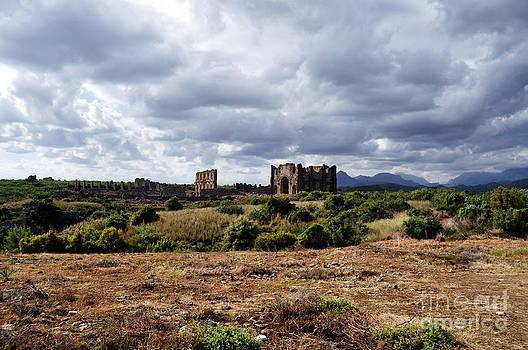 Aspendos Ancient City by Bener Kavukcuoglu