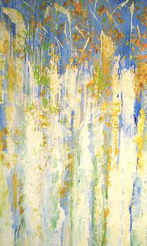 Aspens in Motion by Phoenix Simpson