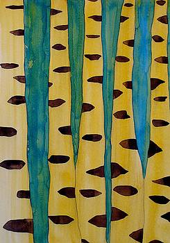 Aspens original painting by Sol Luckman