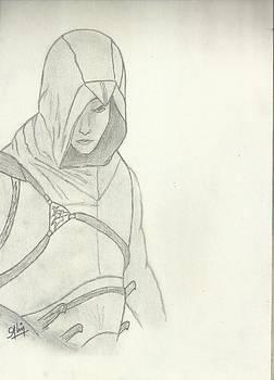 Assassin Sketch by Saleem Baig