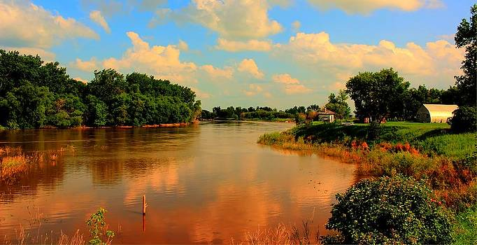 Assiniboine River HDR by Larry Trupp