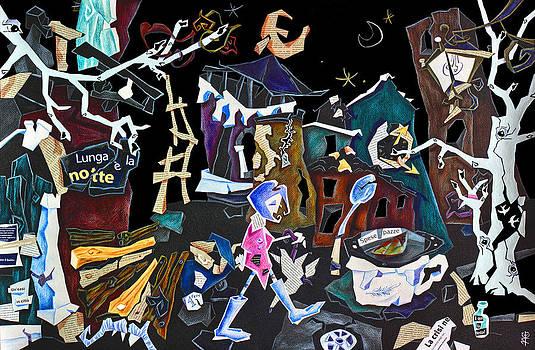 Arte Venezia - AsSurDa ReaLTa - Venice Art Collage - Economic Crisis Europe Italy