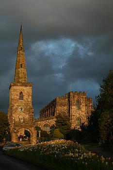 Astbury Church by Derek Sherwin