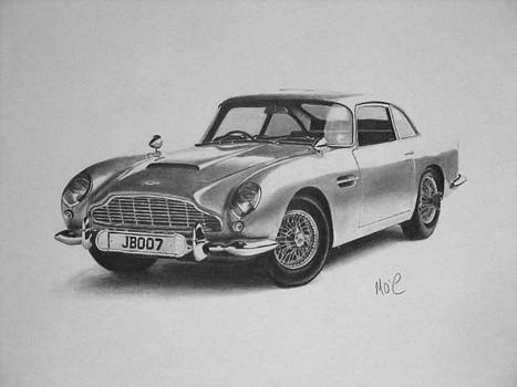 Aston Martin by Mike OConnell