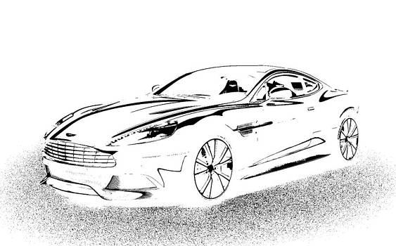 Aston Martin by Rogerio Mariani
