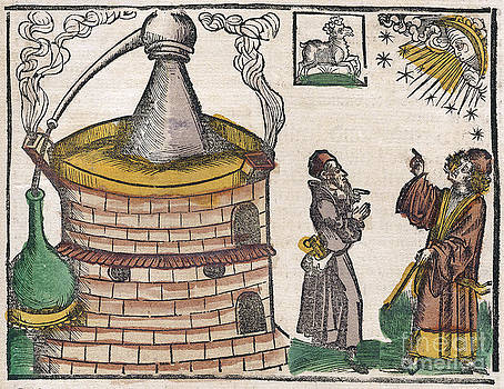 Science Source - Astrological Influence On Alchemy 1512