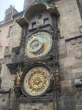Astronomical clock Prague by Branko Jovanovic
