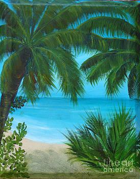 At the Beach by Darlene Green