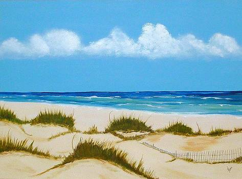 At the Beach by Nancy Nuce