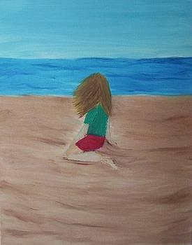 At The Beach by Tony  DeMerchant