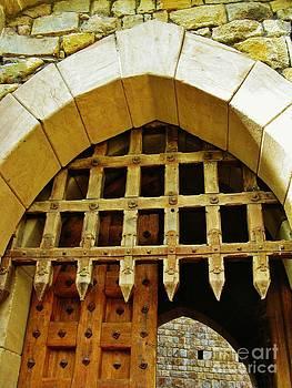 At The Castle Gate by Deborah Knolle