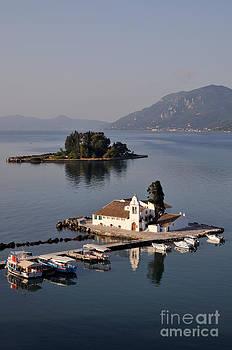 George Atsametakis - Panagia Vlachernon monastery in Corfu island