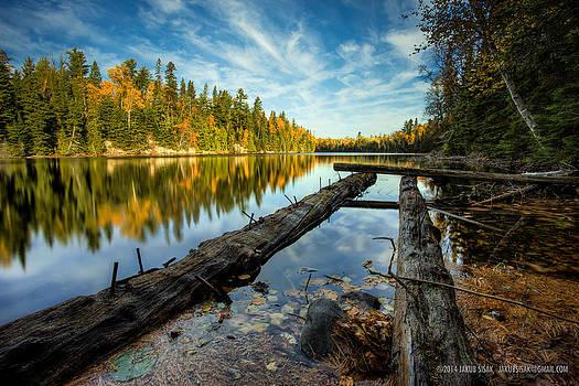 At the Loch Lomond Dam by Jakub Sisak