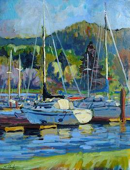 At the Marina by Margaret  Plumb
