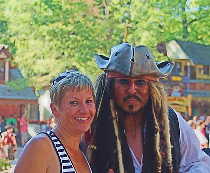 At The Renaissance Fair by Victoria Sheldon