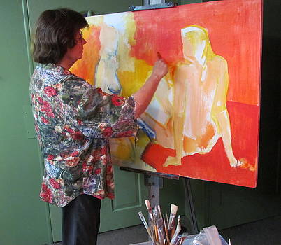 Betty Pieper - At Work on The Innocents