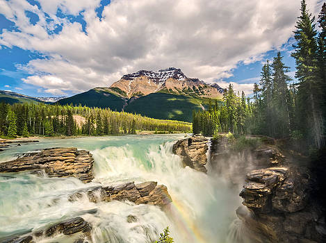 Athabasca Falls by Tracy Munson