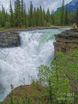 Athabasca Falls V  by Skye Ryan-Evans