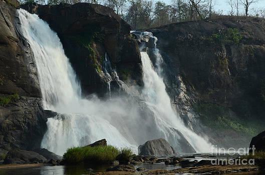 Athirappally Water Falls by Jiss Joseph