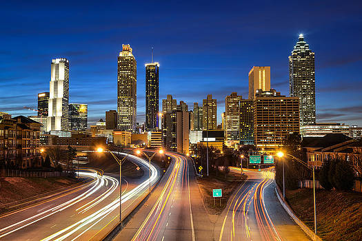 Atlanta Skyline by Robert Hainer