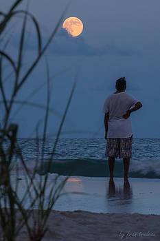 Atlantic Blue Moon by Francis Trudeau