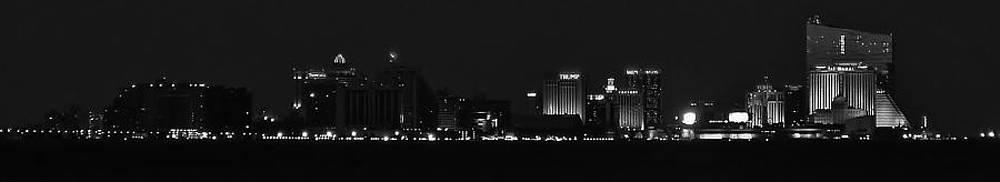 Atlantic City at Night by Ed Sweeney