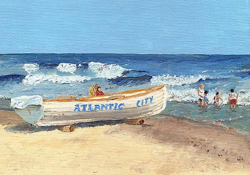 Atlantic City Beach by Arch