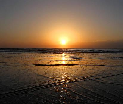 Atlantic Sunrise by Cheryl Heffner