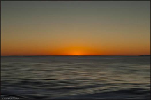 Erika Fawcett - Atlantic Sunrise In Oils