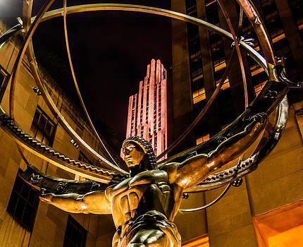 Atlas - Rockefeller Center by James Howe