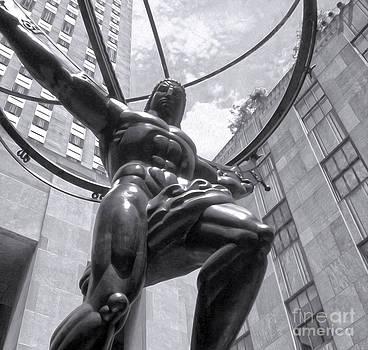 Gregory Dyer - Atlas Statue in New York City
