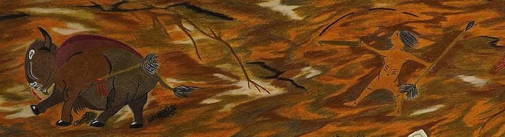 Atlatl hunting  by Gerald Strine