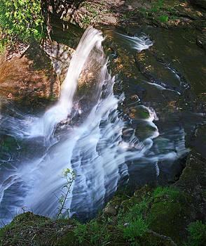 Atop Laughing Whitefish Falls by James Rasmusson