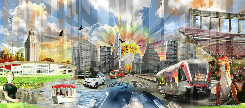 ATX Explosion by Andrew Nourse