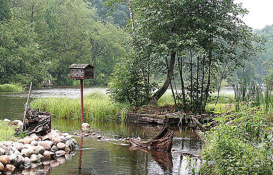Au Sable River by Jack Thomas