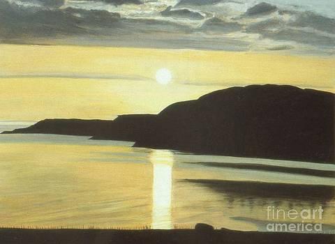 Auchiltibuie Sunset by David Paterson