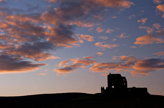 David Ross - Auchindoun Castle sunrise