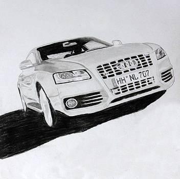 Audi Car by AR Annahita
