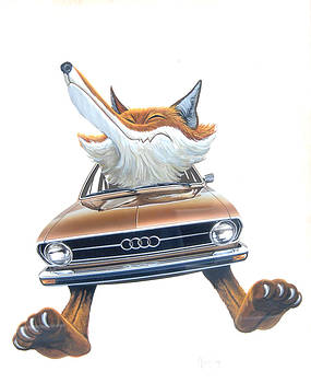 Audi Fox 4 by Mel Greifinger