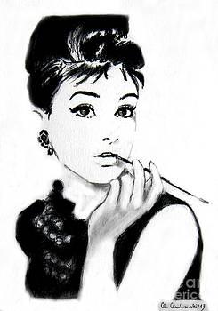 Audrey Hepburn by Anna Androsovski