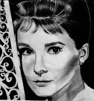 Audrey Hepburn by Kohdai Kitano