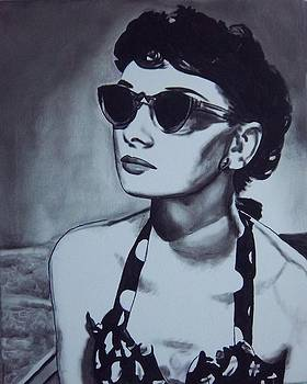 Audrey Hepburn by Lori Keilwitz