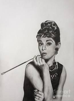 Audrey Hepburn by Michael Durocher