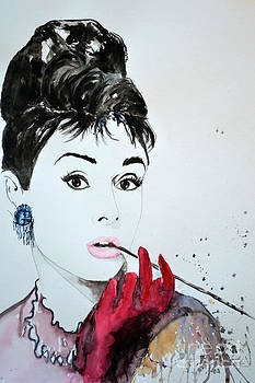 Audrey Hepburn - Original by Ismeta Gruenwald