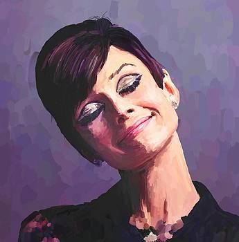 Audrey Hepburn by Robert Wheater